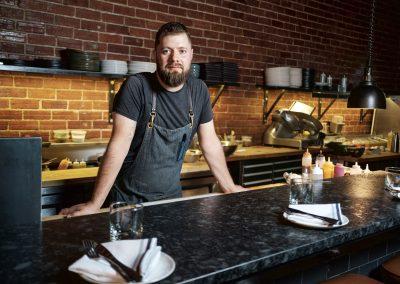Chef Justin Champagne